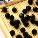 Beads, Auralescent Crystal, Crystal, Black , Faceted Rounds, Diameter 6mm, 10 Beads, [ZZC249]